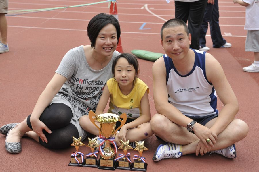 第七屆香港兒童親子田徑錦標賽2015 第二回合
