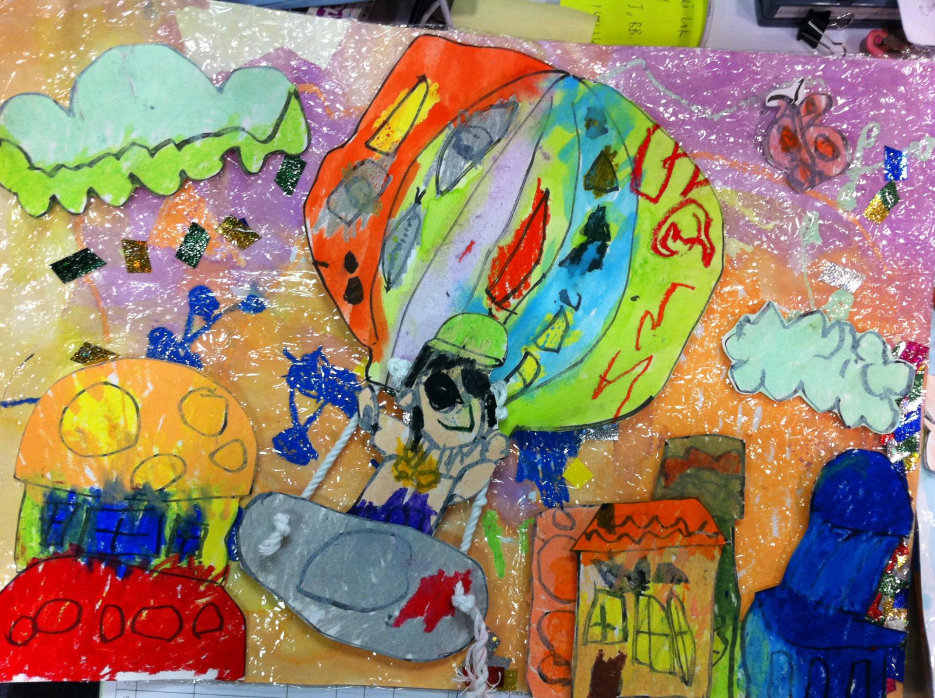 第四屆香港兒童創意思維繪畫大賽2013 [畫出繽紛]