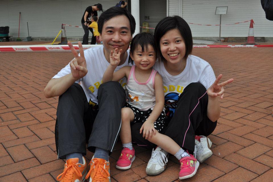 第5屆香港兒童親子田徑錦標賽2013