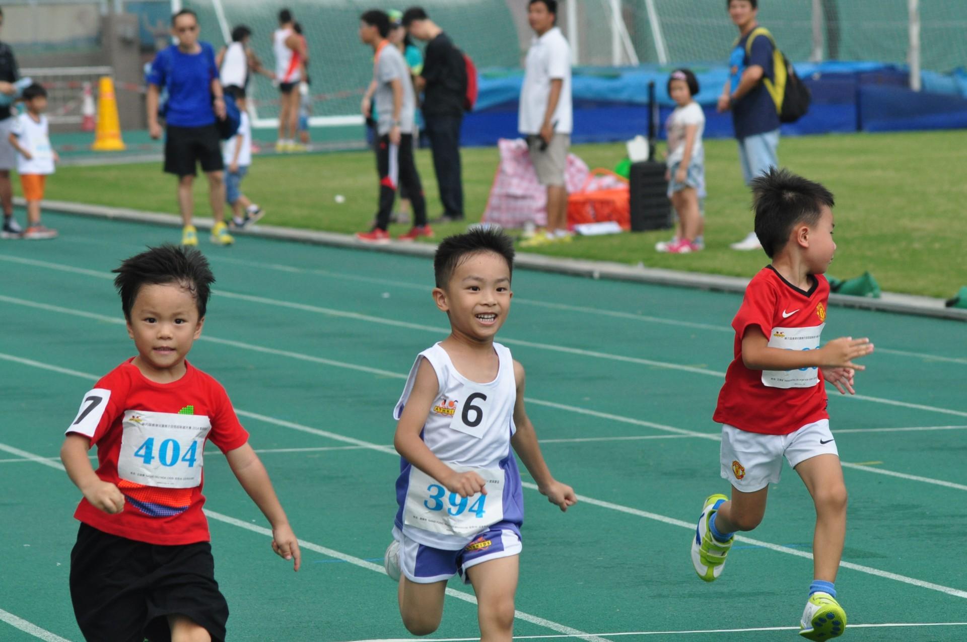 第七屆香港兒童親子田徑錦標賽2015 第三回合