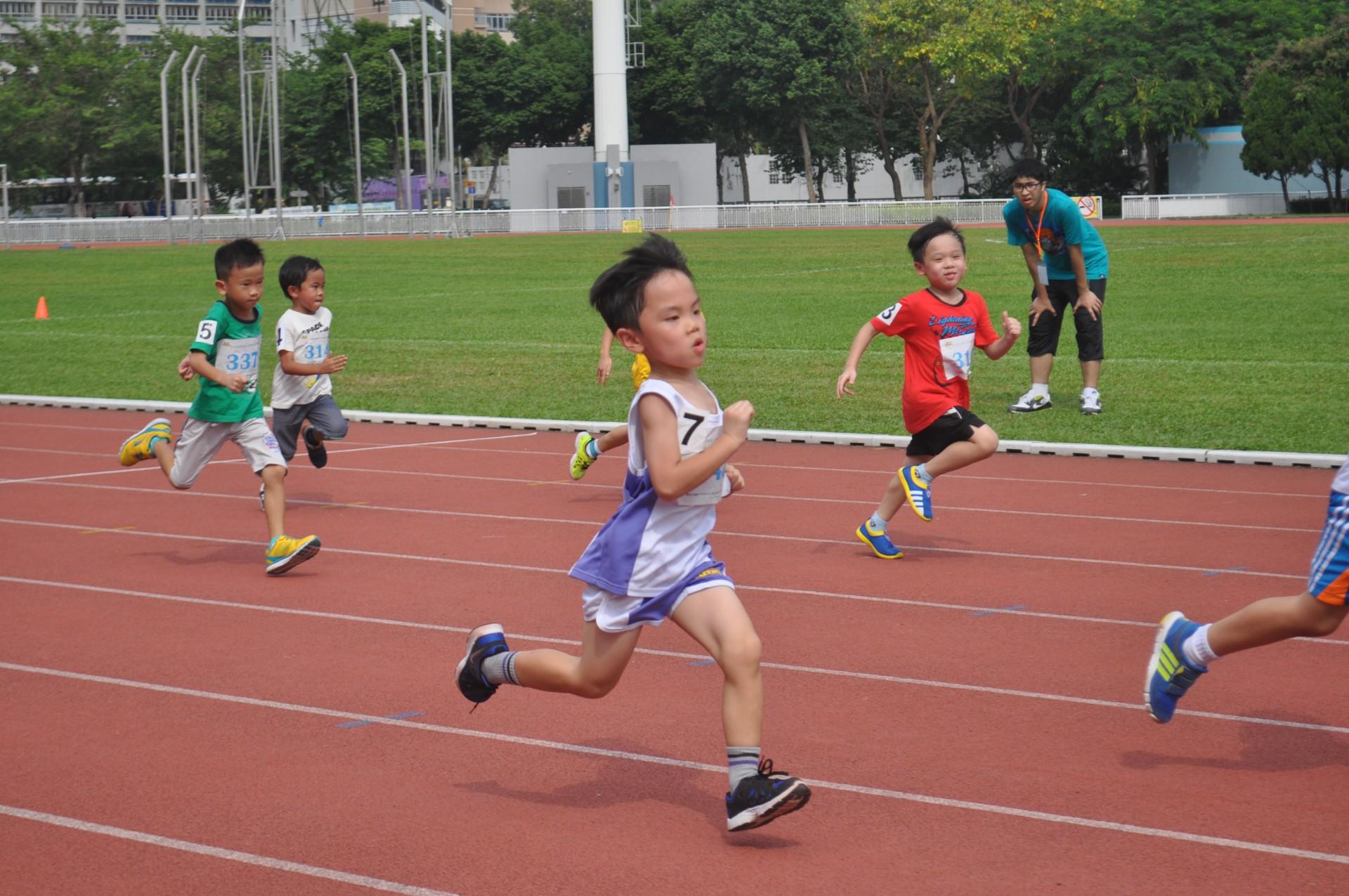 第九屆香港兒童奧林匹克田徑錦標賽2017