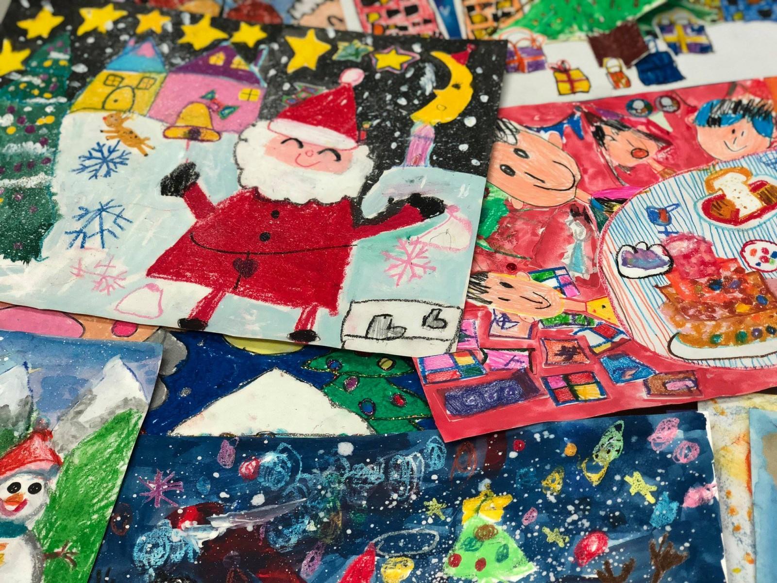 第七屆香港兒童創意思維繪畫大賽2016 (Round 3) [聖誕奇幻世界]