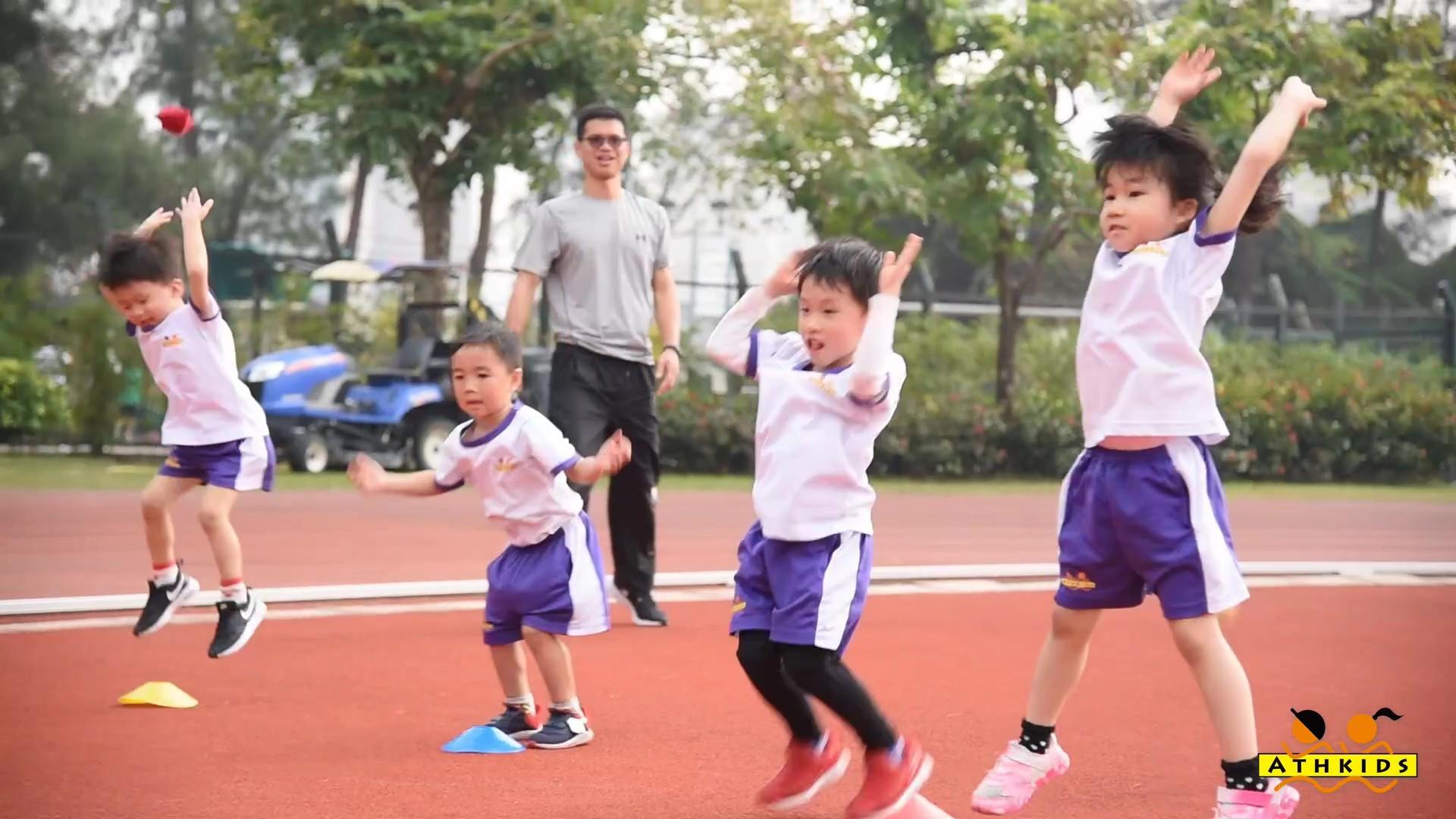 第四屆香港兒童親子田徑錦標賽第二回合